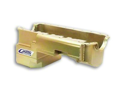Canton Drag Pro Rear Sump Oil Pan - Steel (79-93 5.0L)