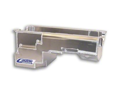 Canton Drag Pro Rear Sump Oil Pan - Aluminum (79-93 5.0L)