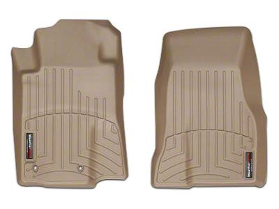 Weathertech DigitalFit Front All Weather Floor Liners - Tan (10-12 All)