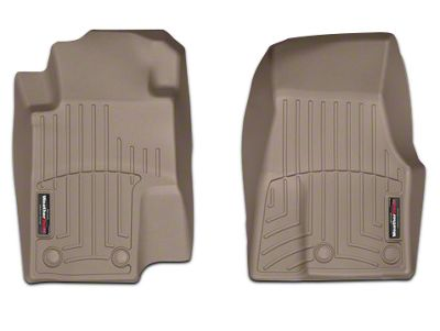 Weathertech DigitalFit Front All Weather Floor Liners - Tan (13-14 All)