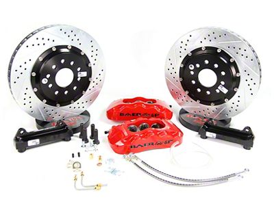Baer Pro Plus Front Brake Kit - Black (94-04 All)