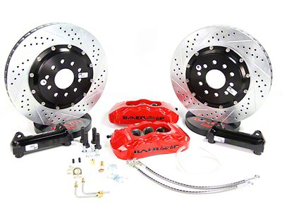 Baer Pro Plus Front Brake Kit - Red (94-04 All)