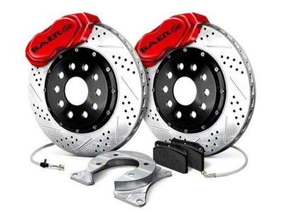 Baer SS4 Plus Rear 5-Lug Brake Kit - Red (79-93 All)