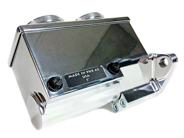 Baer Remaster Master Cylinder w/ Passenger Side Ports - Polished (79-95 All)