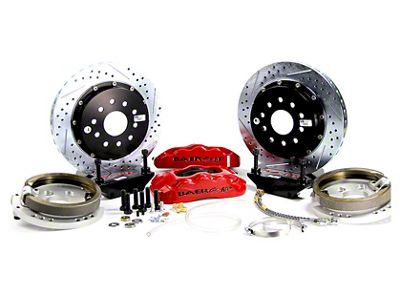 Baer Pro Plus Rear Brake Kit - Red (94-04 All, Excluding 99-04 Cobra)