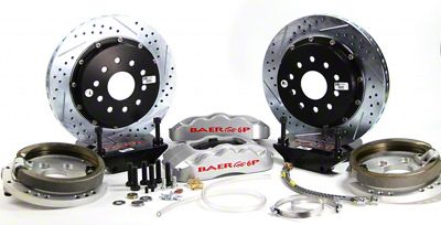 Baer Pro Plus Rear Brake Kit - Silver (94-04 All, Excluding 99-04 Cobra)