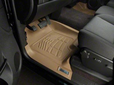 Wade Sure-Fit Front Floor Mats - Tan (15-19 All)