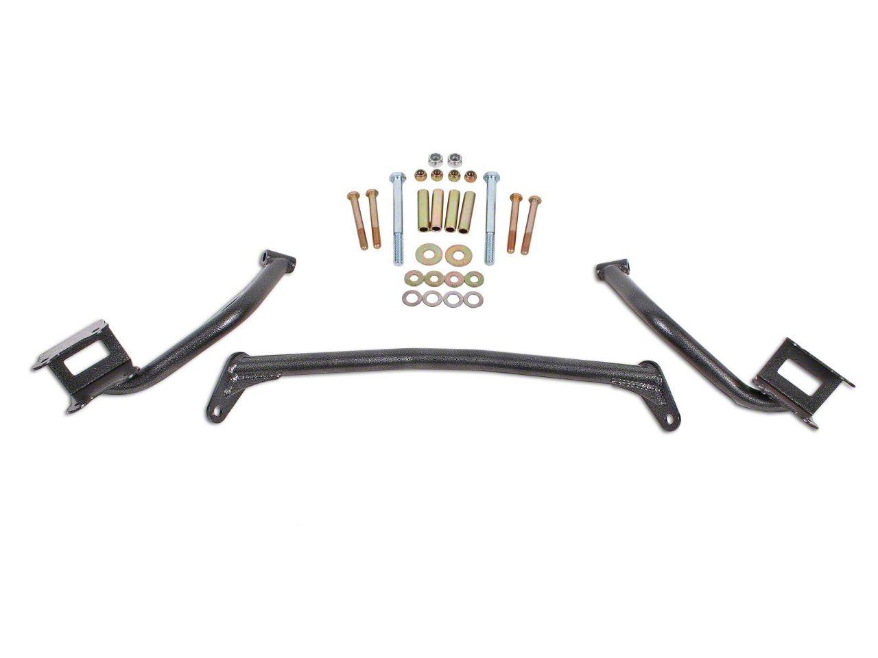 BMR Upper Torque Box Reinforcement Plates - Hammertone (79-04 All)