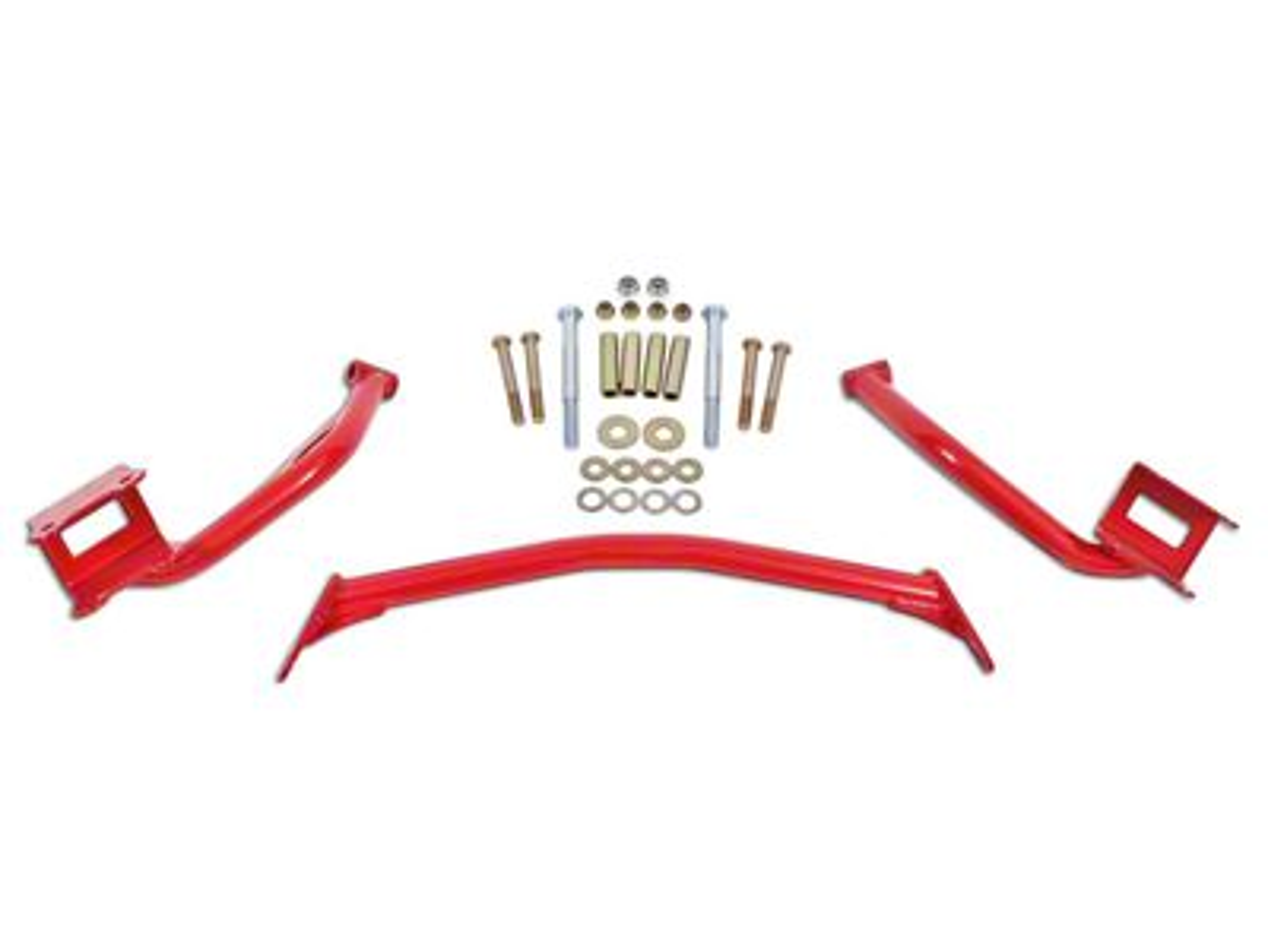BMR Upper Torque Box Reinforcement Plates - Red (79-04 All)