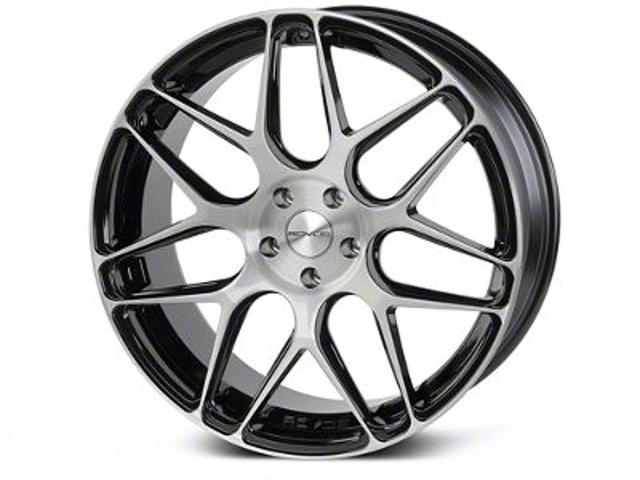 Rovos Pretoria Gloss Black Brushed Wheel - 20x8.5 (05-14 All)