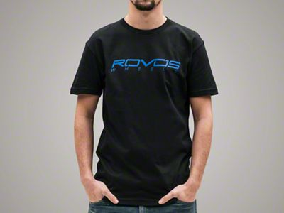 Rovos Black w/ Blue Logo T-Shirt