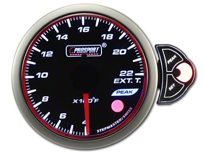Prosport Halo Exhaust Gas Temperature Gauge (79-19 All)