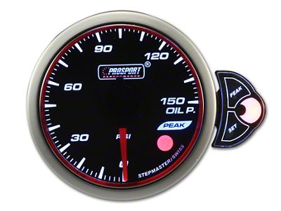 Prosport Halo Oil Pressure Gauge - Electrical (79-19 All)