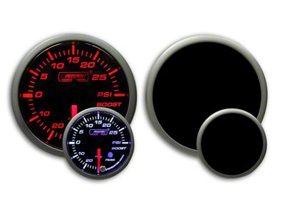 Prosport Dual Color Premium Boost Gauge - Electrical - Amber/White (79-19 All)