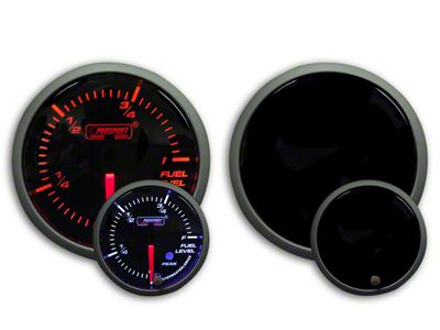 Prosport Dual Color Premium Fuel Level Gauge - Amber/White (79-19 All)