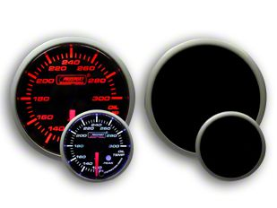 Prosport Dual Color Premium Oil Temperature Gauge - Amber/White (79-19 All)