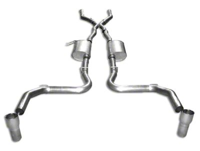 Stainless Works Turbo Chambered Cat-Back Exhaust w/ Off-Road X-Pipe (03-04 Cobra w/ Long Tube Headers)