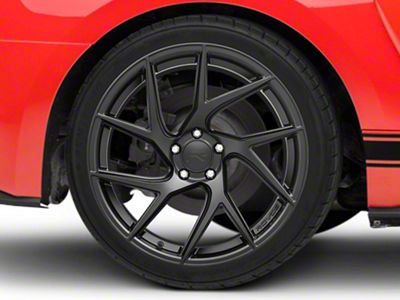 Rovos Joburg Satin Black Wheel - 20x10 - Rear Only (15-19 GT, EcoBoost, V6)