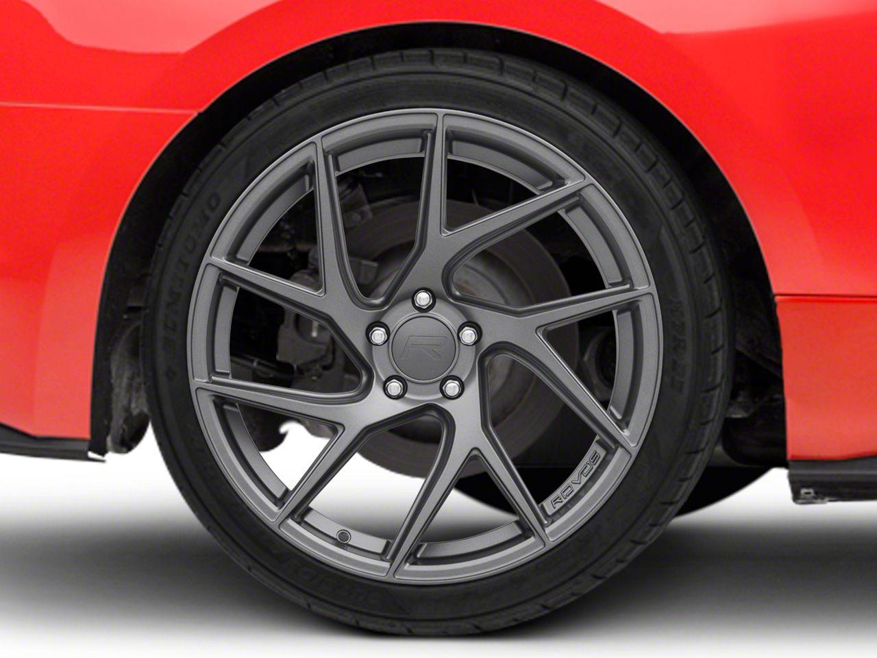 Rovos Joburg Satin Gunmetal Wheel - 20x10 (15-19 GT, EcoBoost, V6)