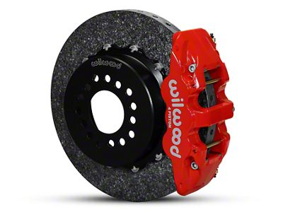 Wilwood AERO4 Dynamic Rear Brake Kit - Red (05-14 All)