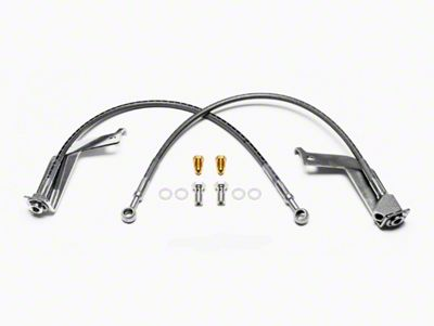Wilwood CPB Caliper Flexline Brake Line Kit - Rear (99-04 GT)