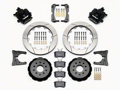 Wilwood CPB Rear Brake Kit w/ Slotted Rotors - Black (05-14 All)