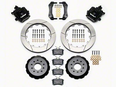 Wilwood CPB Rear Brake Kit w/ Slotted Rotors - Black (94-04 GT, V6)