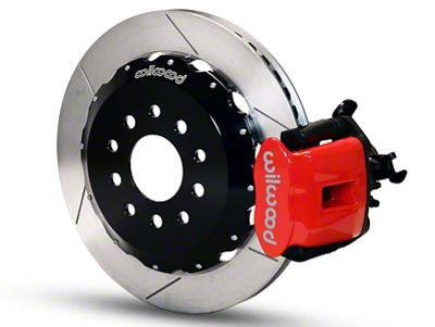 Wilwood CPB Rear Brake Kit w/ Slotted Rotors - Red (94-04 GT, V6)