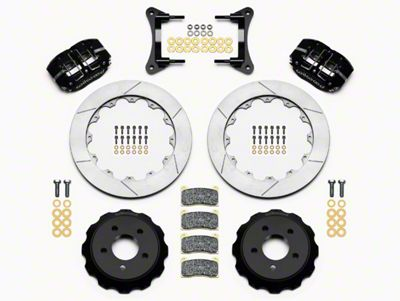 Wilwood DynaPro 4R Drag Race Front Brake Kit w/ Slotted Rotors (15-19 All)