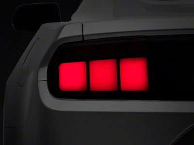 Raxiom Profile LED Tail Lights - Red Lens (15-19 All)