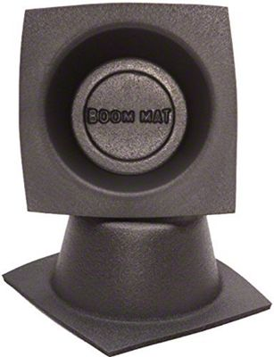 Boom Mat Speaker Baffles - 4 in. Round Slim (79-19 All)