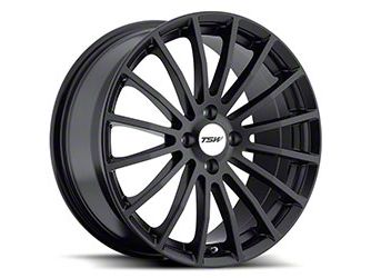 TSW Mallory Matte Black Wheel - 19x8 (15-19 All)