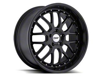 TSW Valencia Matte Black Wheel - 19x8 (05-14 All)