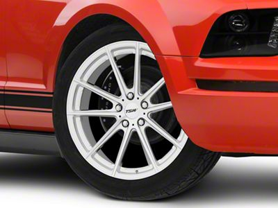 TSW Bathurst Silver Wheel - 19x8 (05-14 All)