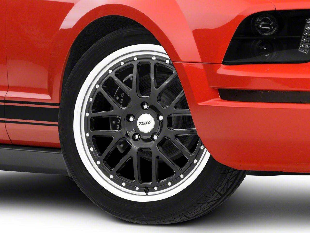 TSW Valencia Gloss Black Wheel - 20x8.5 (05-14 Standard GT, V6)