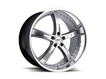 TSW Jamara Hyper Silver Wheel - 20x8.5 (15-19 EcoBoost, V6)