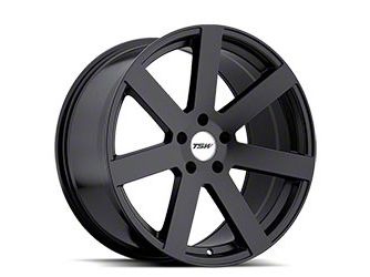 TSW Bardo Matte Black Wheel - 20x8.5 (15-19 All)