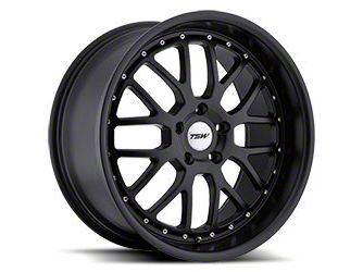 TSW Valencia Matte Black Wheel - 20x8.5 (15-19 EcoBoost, V6)