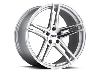 TSW Mechanica Silver Wheel - 20x8.5 (05-14 Standard GT, V6)