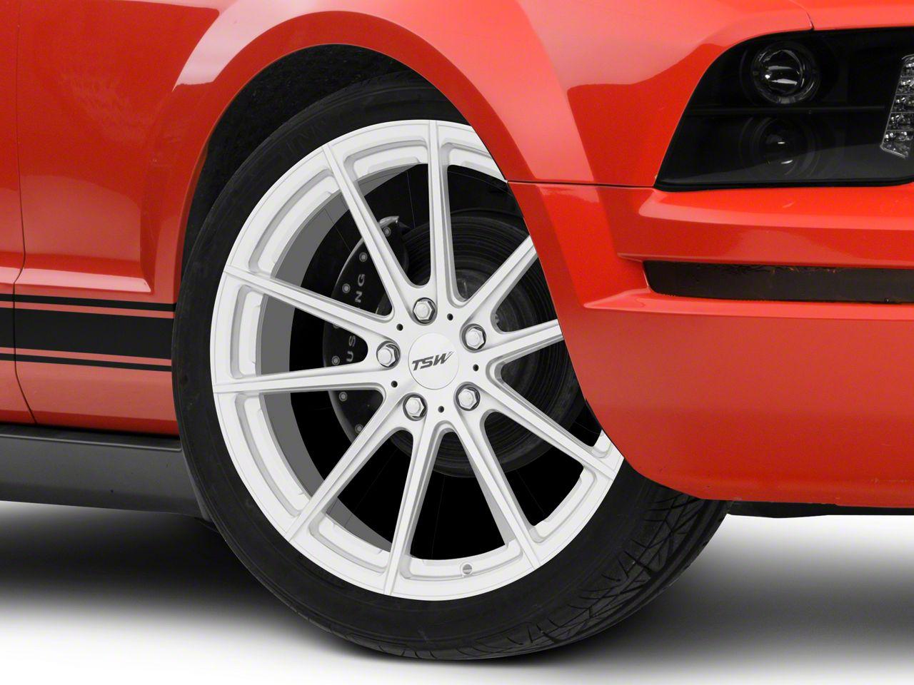 TSW Bathurst Silver Wheel - 20x8.5 (05-14 Standard GT, V6)