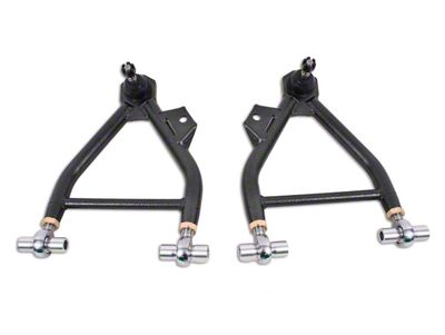 BMR Adjustable Front Lower Coil-Over A-Arms - Rod End - Standard Ball Joint - Hammertone (94-04 All)