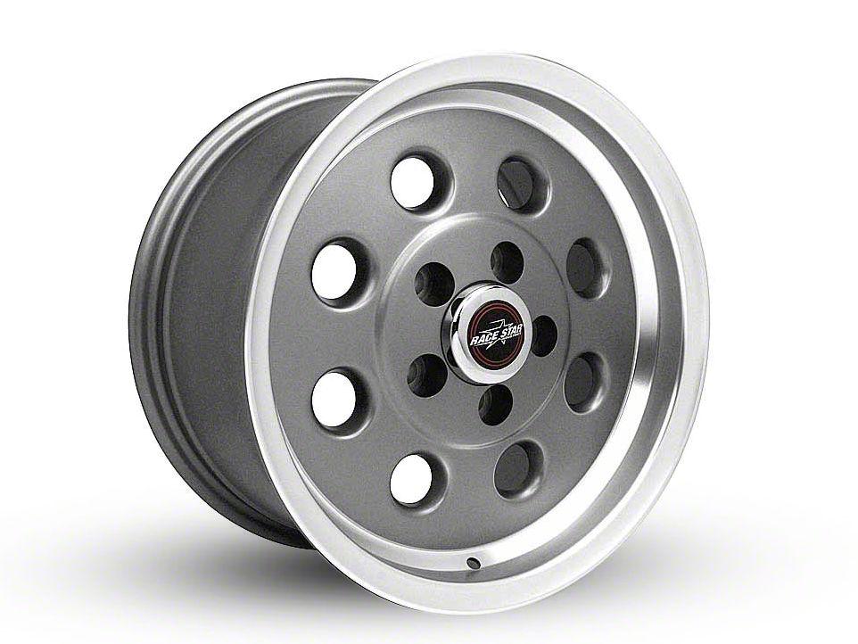 Race Star 82 Pro-Lite Metallic Gray Wheel - 15x10 (87-93 w/ 5 Lug Conversion)