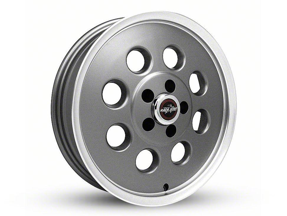 Race Star 82 Pro-Lite Metallic Gray Wheel - 15x3.75 (87-93 w/ 5 Lug Conversion)