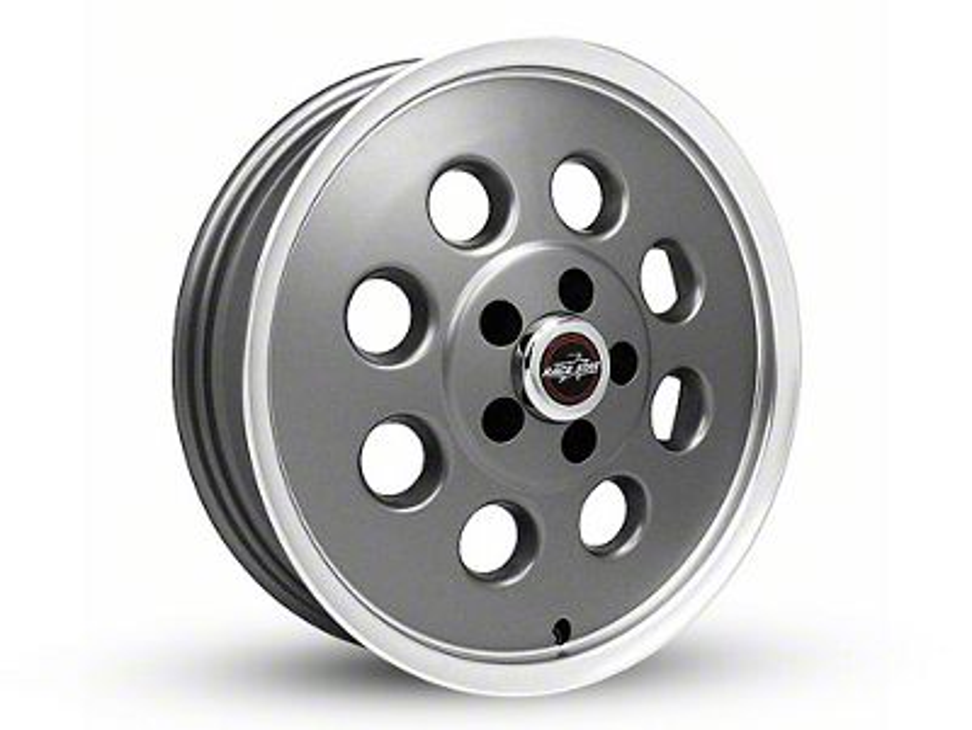 Race Star 82 Pro-Lite Metallic Gray Wheel - 15x3.75 (94-04 GT, V6)