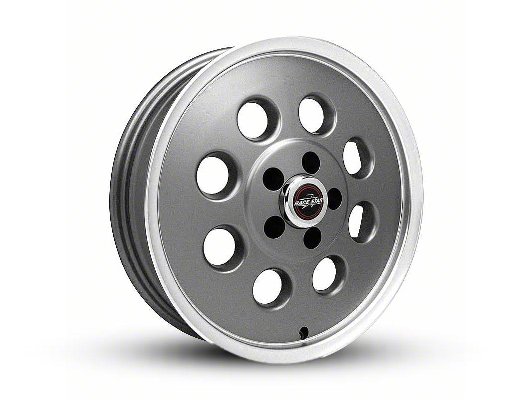 Race Star 82 Pro-Lite Metallic Gray Wheel - 17x4.5 (05-14 All, Excluding 13-14 GT500)