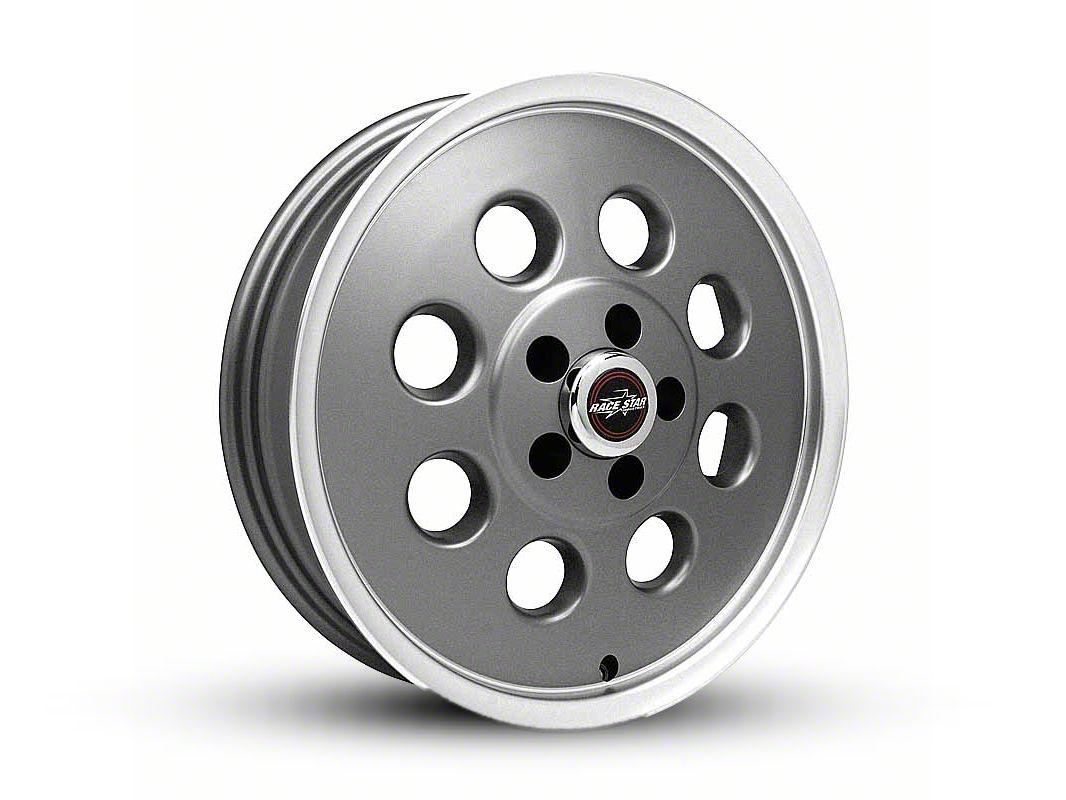 Race Star 82 Pro-Lite Metallic Gray Wheel - 17x4.5 (87-93 w/ 5 Lug Conversion)