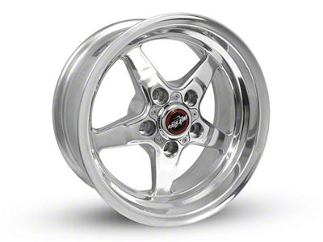 Race Star 92 Drag Star Polished Wheel - Direct Drill - 15x7 (87-93 w/ 5 Lug Conversion)