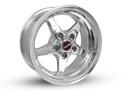 Race Star 92 Drag Star Polished Wheel - Direct Drill - 15x7 (94-04 GT, V6)