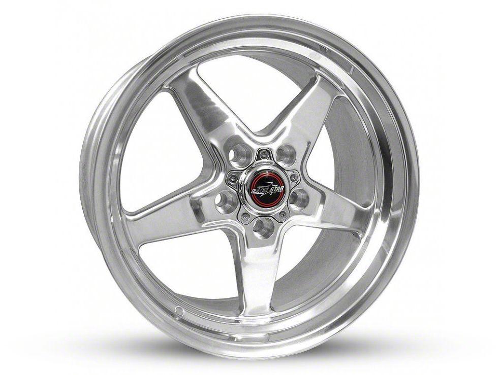 Race Star 92 Drag Star Polished Wheel - Direct Drill - 17x9.5 (87-93 w/ 5 Lug Conversion)