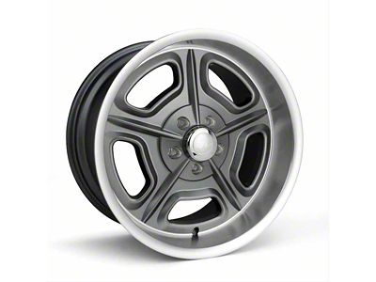 Race Star 32 Mirage Metallic Gray Wheel - 18x7 (87-93 w/ 5 Lug Conversion)